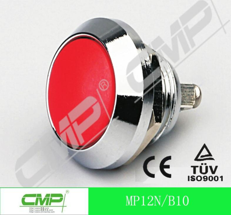 12mm Waterproof Metal Push Button Switch with Momentary on Manufacture China 4