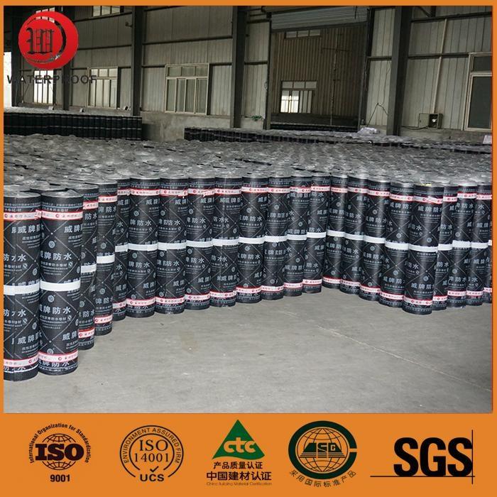polyester mat reinforced flexible app modified bitumen waterproof membrane 5