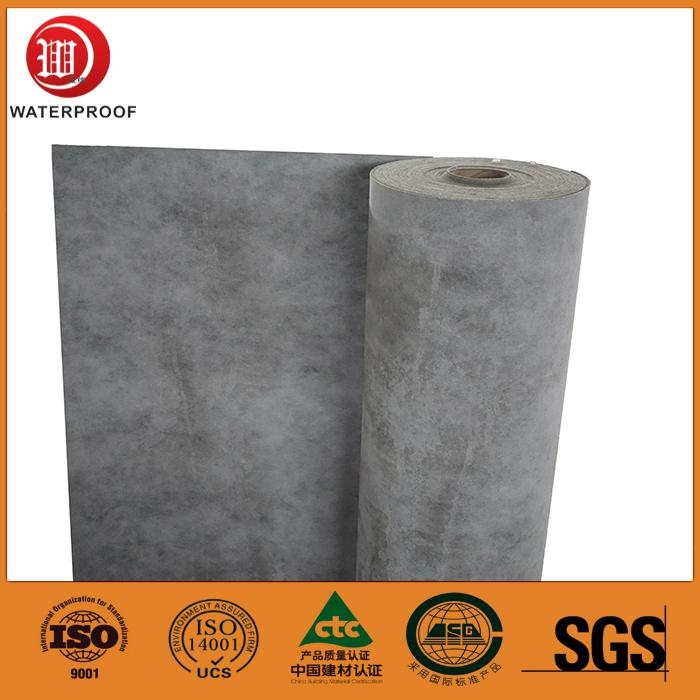 1.2.mm breathable roofing underlayment HDPE polythene waterproof membrane 3