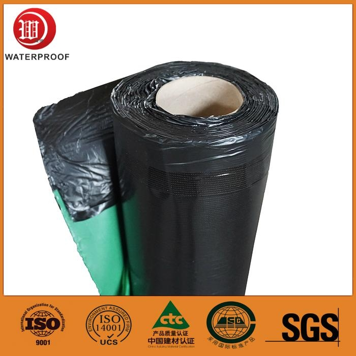 high polymer self-adhesive sbs modified bituminous waterproof membrane 1
