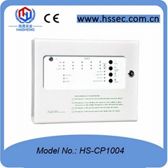 24V Haisheng Conventional four-zone fire alarm control panels HS-CP1004