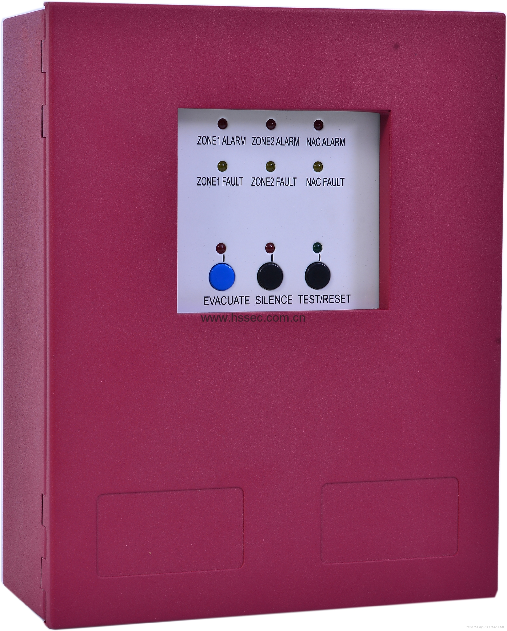 2 Zones fire alarm control panel HS-CK1002 with great pricing 1