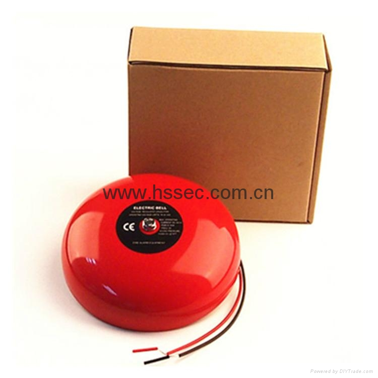 """6"""" 2 wire 24V fire alarm bell HS-JL188-6 electric bell 1"""
