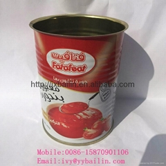 Low price canned tomato paste competitive price
