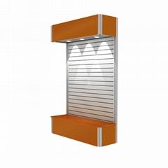 Portable Aluminum Display Stand Slatwall Display