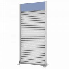 Portable Slatwall for Shop Display