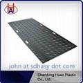 Ground mat construction road mat