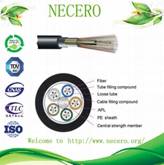 GYTS(optic fiber, fiber optical cable, optical fiber cable)