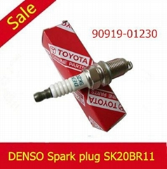 DENSO IRDIUM POWER SPARK PLUG SK20BR11 90919-01230 FOR camry the prius
