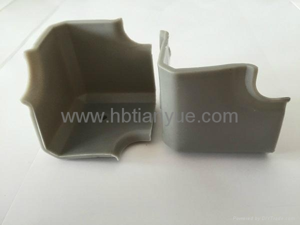 Custom special colorful OEM auto rubber and plastic silicone molded parts 3