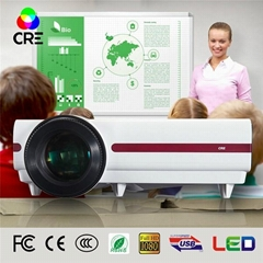 CRE X1500 made in china digital projector for school education