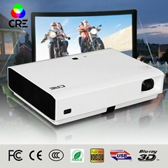 CRE X3000 native hd led projector 1080p mini theater projector