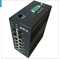 12 ports Full Gigabit Industrial Switch for Intelligent Transportation i712A 4
