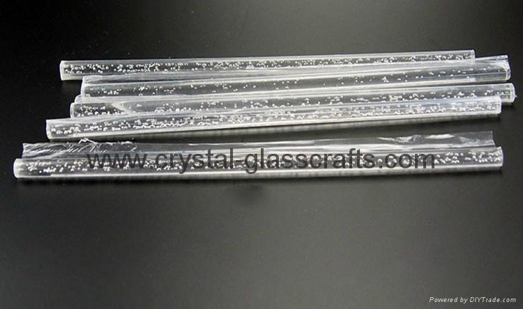 Extruded Acrylic bubble Rod Plexiglass Rods PMMA Rod 3