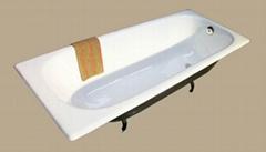 cast iron big bathtub