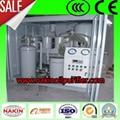 Series TYA vacuum lubricating oil purifier 4