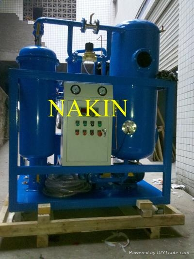 Series TY vacuum turbine oil purification machine  4