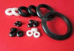Custom molded nitrile rubber grommet silicone rubber grommet viton