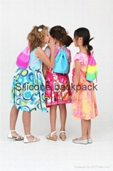 2017 Yummy Gummy  Silicone Colorful Kids Back pack