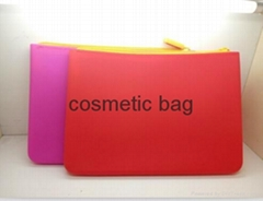 2017 China factory panel pixel cosmetic hand bag