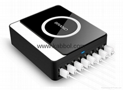 60W 8 port multiple cell phone charging station 5V 12A charger adapter