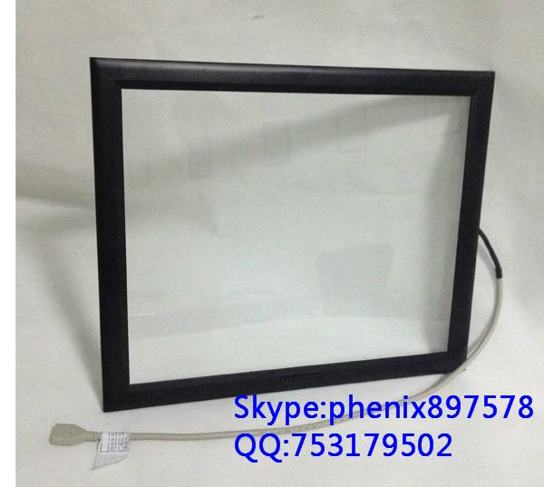 (8-32'') 15 inch low cost no blind spot anti-reflection saw touch screen  3