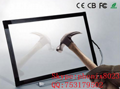 (12.1-85'')  65 inch  USB RS232  multi touch points waterproof IR touch screen