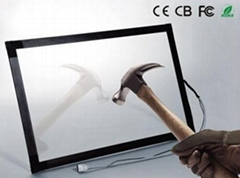 (12.1-85'')  70 inch  waterproof anti-glare Infrared  touch screen