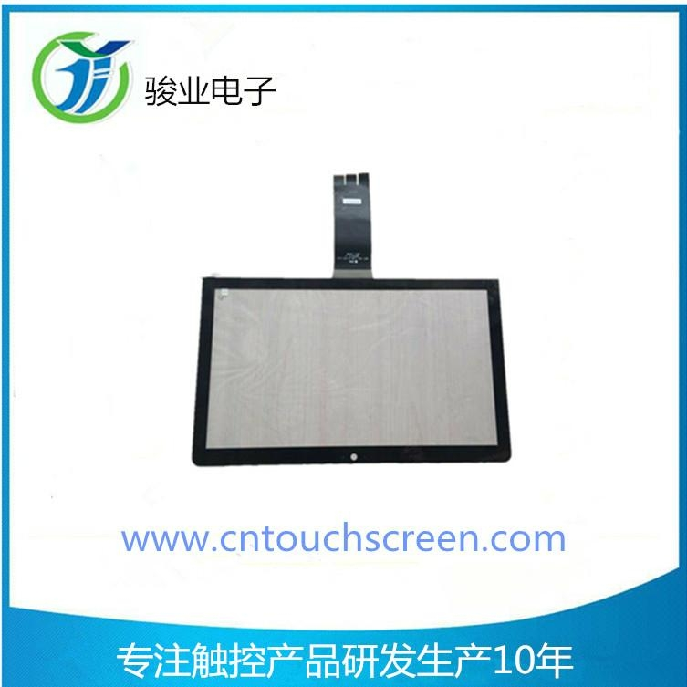 """Interactive Original 32"""" capacitive touch panel industrial external Glass Touch  1"""