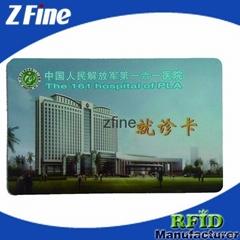 Magnetic stripe card-black or white stripe
