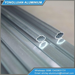 Aluminum extrusions for furniture closet wardrobe door