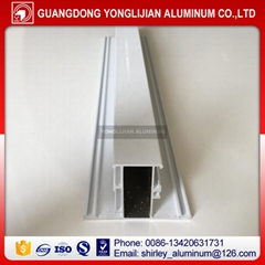 6063 T5 powder coated window and door aluminum profiles