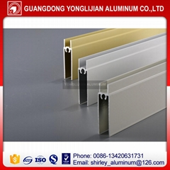 Aluminum extrusion profiles for closet door wardrobe door
