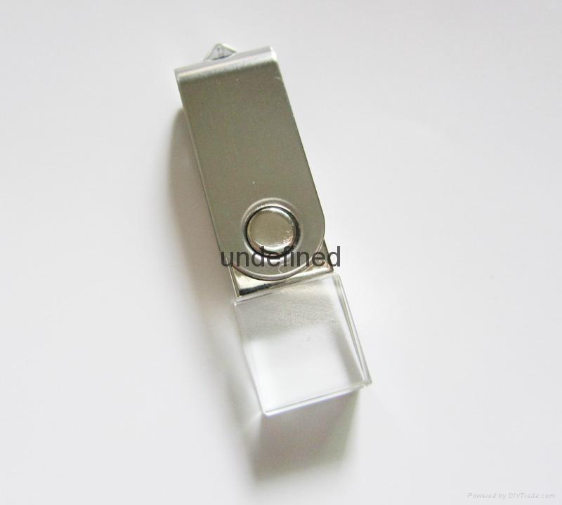 水晶U盘 2