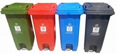 遵化学校迁安小区240升塑料垃圾桶厂家直销