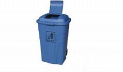 定州办公楼安国小区学校240L环保垃圾桶厂家直销