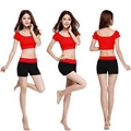 Top and Shorts Fashion Woman Sports Wear