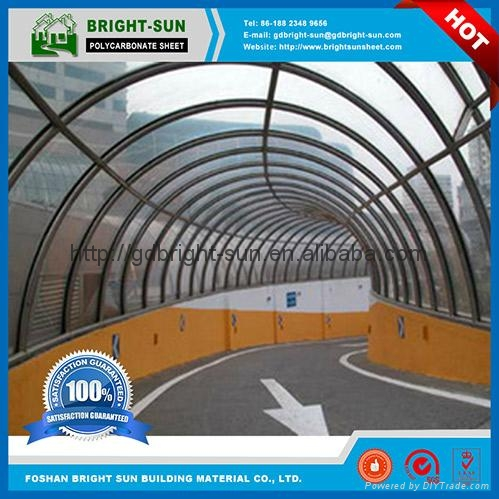 PC sheets for highway sound barrier 4
