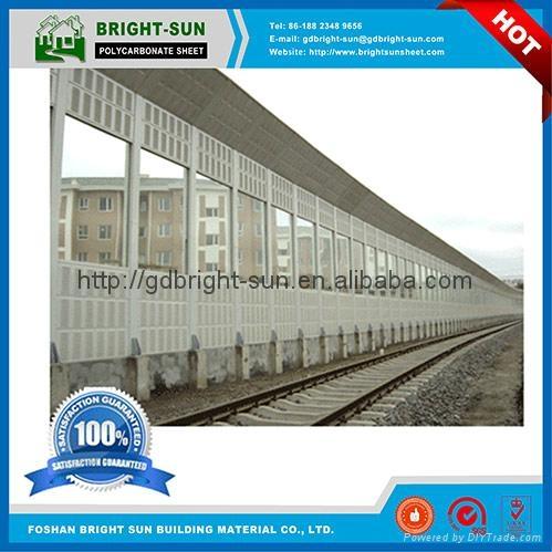 PC阳光板用于高速公路隔音屏障 5