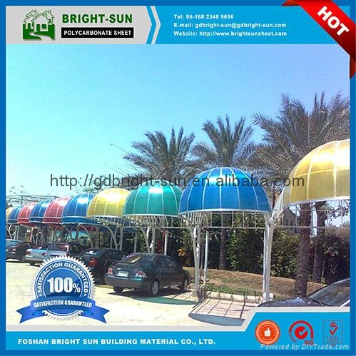 Polycarbonate sheet for roofing 3