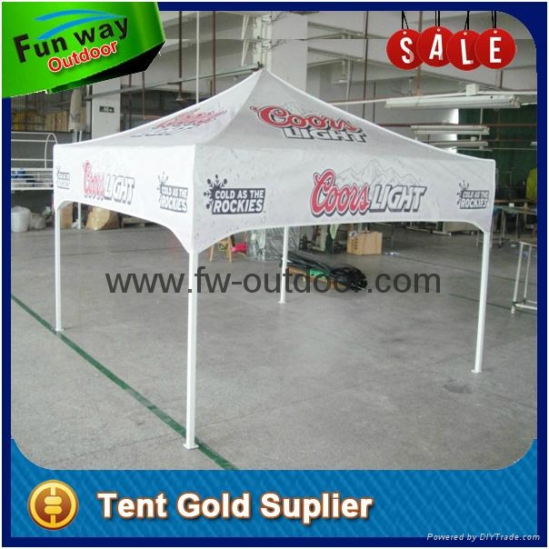 Cutom printed 8x8 ft Dye sublimation Ez up canopy tent  3
