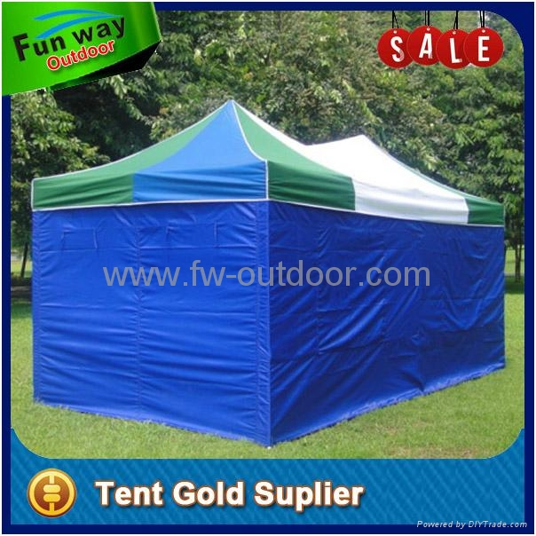 Blue white quick foldable 3x6m pop up tent 3