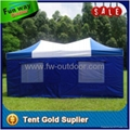 Blue white quick foldable 3x6m pop up tent 5
