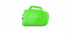 Solarbox portable inverter for car/mobile phone
