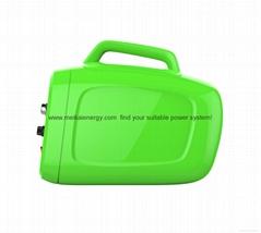 DC/DC solar ray PV power storage