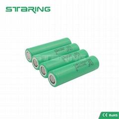 Orginal Samsung 25R 2500mah 3.6V 20A Vape Pen Rechargeable 18650 battery
