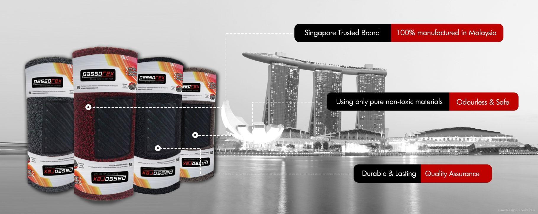 diy pvc car mat passorex singapore manufacturer car. Black Bedroom Furniture Sets. Home Design Ideas