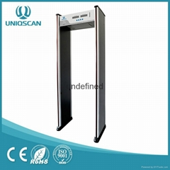 Hot sale Walk Through Metal Detector UB500 with high sensitivity