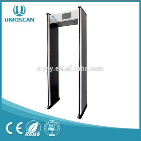 6-24 zones 5.7 inch LCD Door Frame Metal Detector UB700 with fast delivery 1