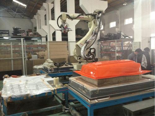 上海香广半自动XG-1515厚片吸塑机 3